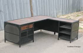 home office furniture indianapolis industrial furniture. Buy A Hand Crafted Vintage Industrial Desk W/Return. Reclaimed . Home Office Furniture Indianapolis T
