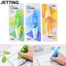 Decorative office supplies White Gold New Creative Correction Tape Pen Shaped Decorative White Out School Office Supply Stationery 1pcs Random Color Drop Shipping Aliexpress New Creative Correction Tape Pen Shaped Decorative White Out School