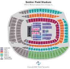 Seating Chart Soldier Field Kenny Chesney Ralph Wilson Stadium Online Charts Collection
