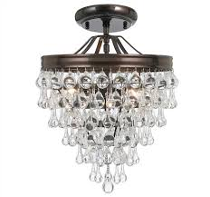 qz130 calypso crystorama clear crystal drop pendant chandelier intended for attractive house crystal drop chandelier remodel