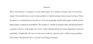 q is an abstract page required apa answers below is an example of an abstract