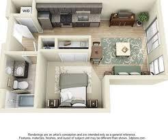 Beautiful ... Amazing Ideas 1 Bedroom Apartments Denver Vivomurcia Com 2 In ...