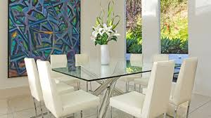 Small Picture 15 Shimmering Square Glass Dining Room Tables Home Design Lover