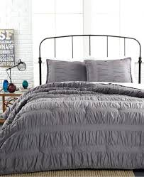 um image for duvet covers plaid ruched cover grey ruffle queen waterfall bedding set