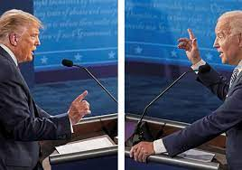 Chaotic first debate: Trump and Biden interrupt each other, clash over  COVID-19, job losses and Supreme Court