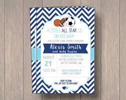 RkDesigns Sports Theme Baby Shower IdeasBaby Shower Invitations Sports Theme