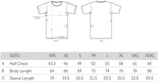 Mens T Shirt Measurements Dreamworks