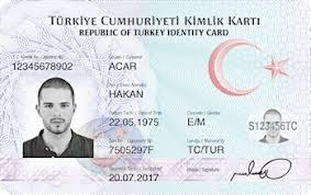 Card - Turkish Wikipedia Identity