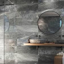 novus grey stone effect wall tiles