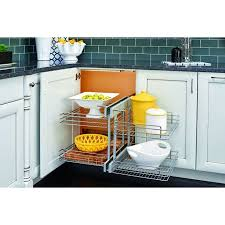 RevAShelf 5PSP18 5PSP Series 18 Inch Base Cabinet Blind Corner Inch Base Cabinet R44