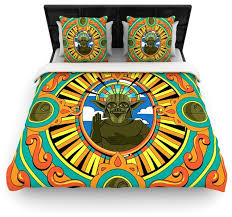 roberlan darth yoda star wars duvet cover eclectic duvet covers and duvet sets by kess global inc