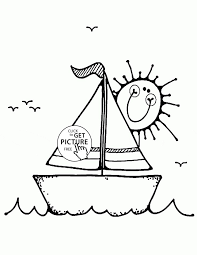 Small Picture Fishing Boat Coloring Pages Apigramcom