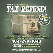 Tax Flyers Designs Free Tax Refund Service Template Psd On Behance
