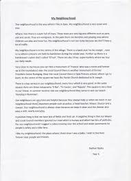 essay about neighbourhood essay about my neighborhood descriptive essay example