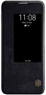 <b>Nillkin Qin</b> - <b>Leather Protective</b> Cover Case Holsters Premium Flip ...