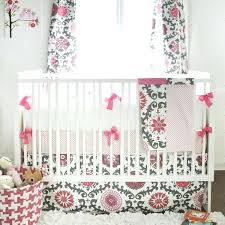 bedding set baby girl baby girl bedding ragain in pink pink and gray baby bedding set