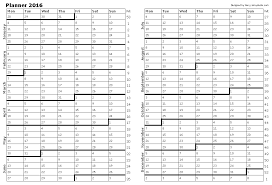 Calendar Planner Template 2014 New Free Printable Calendars And ...