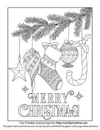 Free printable merry christmas coloring pages for kids. Free Printable Christmas Coloring Pages Comfy Christmas