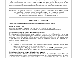 Resume Project Management Resume Words Awesome Project Management