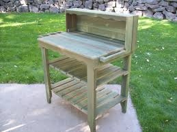Potting Benches Deluxe Potting Bench