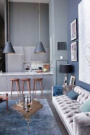 Blue Interior Design Model