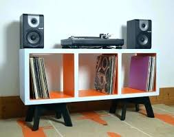 vinyl record furniture. Album Storage Furniture Record Vinyl Colourful Display Cabinet Funky E
