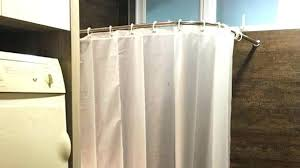 shower curtains and rods ceiling mounted curved shower curtain rods amazing suspended rod curtains tracks throughout