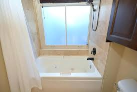 bathtub shower combo for small