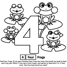 Small Picture Number And Coloring Pages Coloring Pages