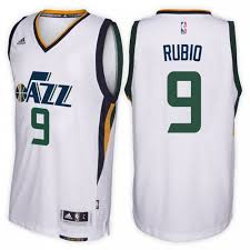 Stitched New Jersey Basketball Delivery Buy Best Home Clothing Nba Shirts Ricky Fast Epv4474 Rubio Utah Seller Fashionable Shirts Jazz Uniform 9 Swingman White