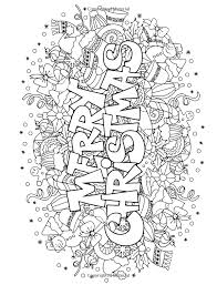 Christmas Coloring Pages Colouring Adult Detailed Advanced Printable