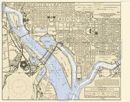 Potomac River Charts Potomac River Washington Dc Maryland And Virginia Nautical