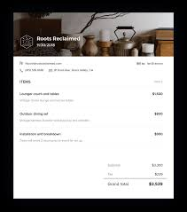 Download Free Invoice Template For Small Busines Honeybook