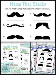 Little Man Baby Shower Game Bowtie U0026 Mustache Donu0027t Say Baby Free Printable Mustache Baby Shower Games