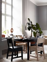 ikea oak dining chairs best of 19 best ikea bjursta dining table images on