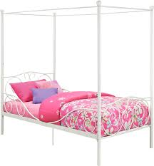 Charming Canopy Twin Bed with Zoomie Kids Kacey Twin Canopy Bed ...