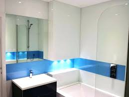 glass shower wall panels simply bathroom coloured walls s
