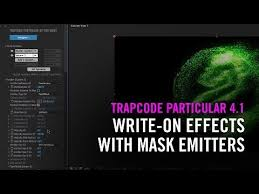 Write-On Effects with <b>Mask</b> Emitters in Trapcode Particular 4.1 ...
