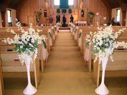 Of Wedding Decorations In Church Church Wedding Decorations Blue Kadcintacom