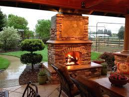 backyard fireplace ideas outdoor stone fireplace design ideas