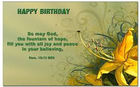 Birthday Bible Quotes