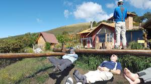 relaxing at secret garden cotopaxi