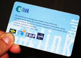 ezlink card public transport in singapore bus smrt card hd