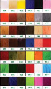 Superfine Dubbing Color Chart Color Chart Wapsi Fly