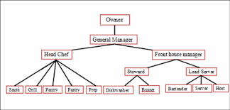Chef Position Chart Organizational Chart Job Description Cl255 Food And