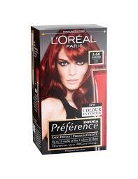 Pr F Rence Infinia Dark Red Hair Dye L Or Al Paris