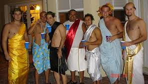 how can you not have fun in a toga costume