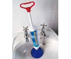 Toilet Pumper Power Pump Drain Blaster Plunger Toilet Sink Unclog Sucker