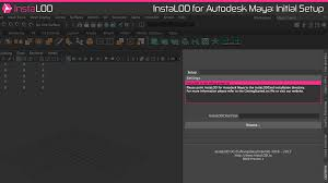 on the first start of instalod it is necessary to point instalod for maya to the installation directory of instalodcmd the browse