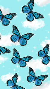 Blue and Black Butterfly Emoji (Page 1 ...